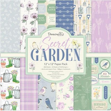 Secret Garden 30x30 papeles