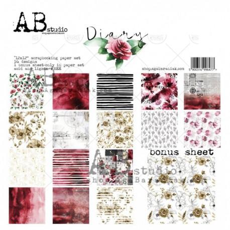 Diary AB STUDIO 30x30 8und.
