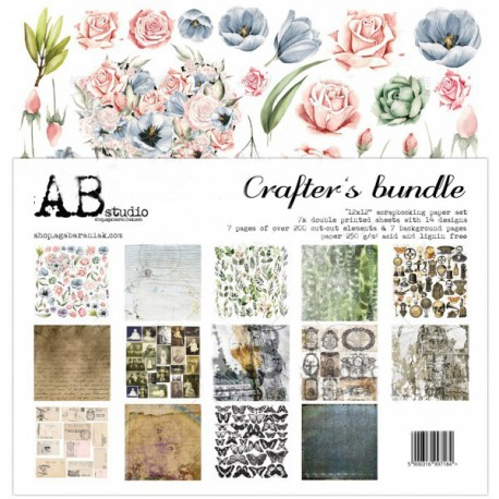 Crafter´s Bundle AB STUDIO 30x30 8und.