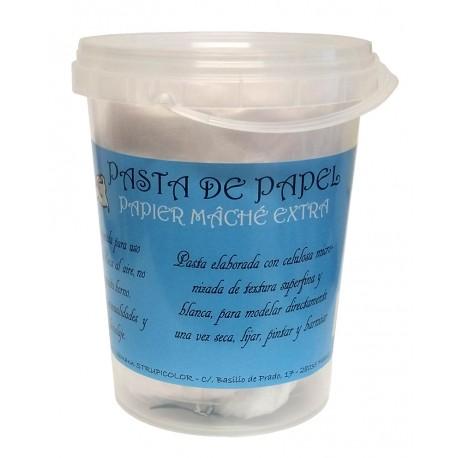 Pasta de Papel PAPIER MACHÉ EXTRA 1kg.