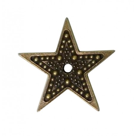 MitFORM Estrella Puntos Peq. 23x23