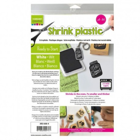 Shrink Plastic BLANCO