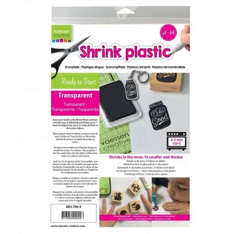 Shrink Plastic TRANSPARENTE