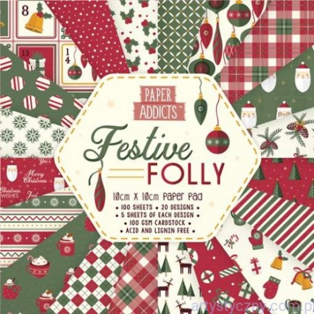 Paper Addict FESTIVE FOLLY 30x30