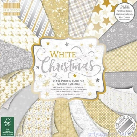 Whuite Christmas  FIRST EDITION 30x30