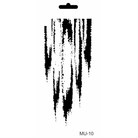 Stencil Mix Media DESGARRÓN 10x25