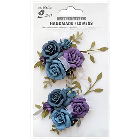 Handmade Flowers - ARION PURPLE PASSION