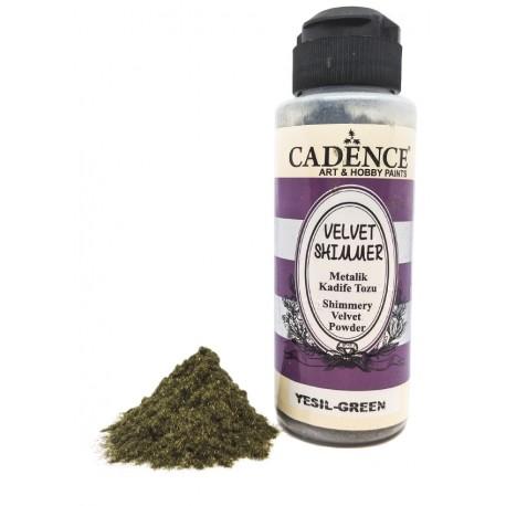 Velvet Shimmer Powder VERDE Cadence