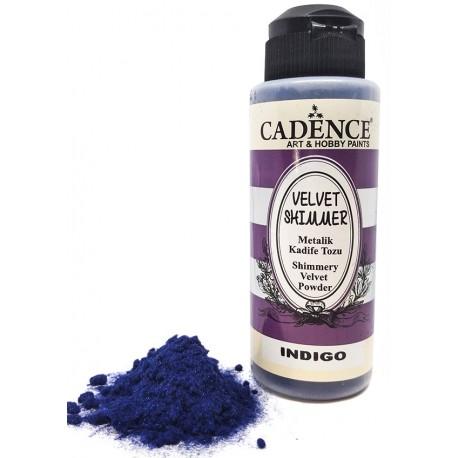 Velvet Shimmer Powder INDIGO Cadence