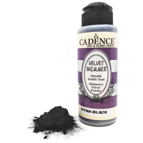Velvet Shimmer Powder NEGRO Cadence