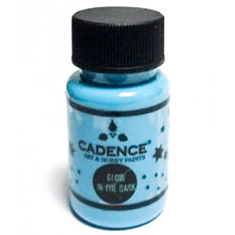 GLOW IN THE DARK Azul CADENCE