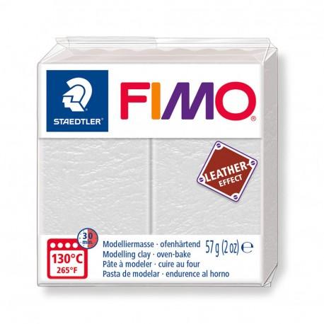 FIMO Effect Leather Marfíl Claro