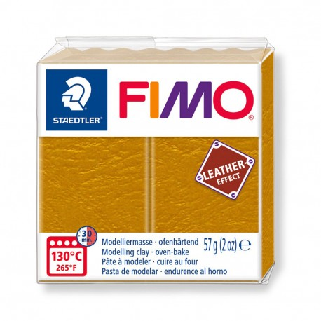 FIMO Effect Leather Ocre