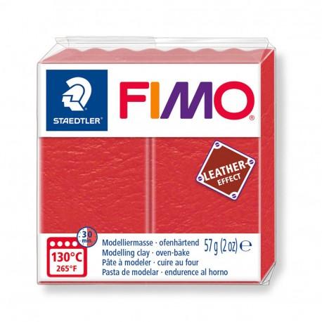 FIMO Effect Leather Sandía