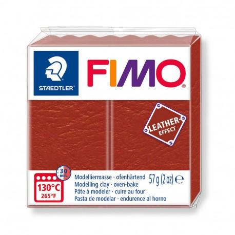 FIMO Effect Leather Herrumbre