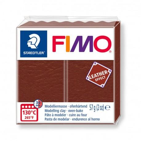FIMO Effect Leather Nuez
