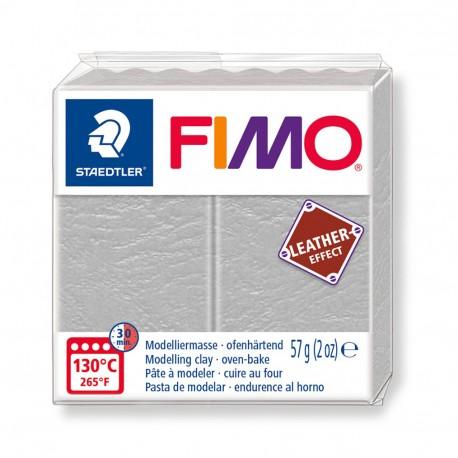 FIMO Effect Leather Gris Paloma
