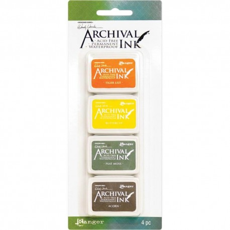 Set 4 Tintas WENDY ARCHIVAL INK