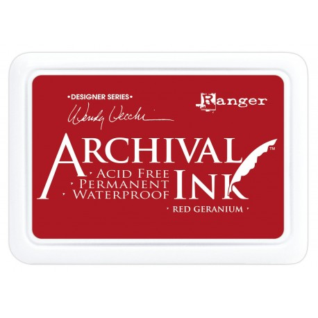 Tinta ARCHIVAL INK Red Geranium
