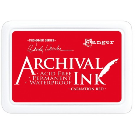 Tinta ARCHIVAL INK Carnation Red