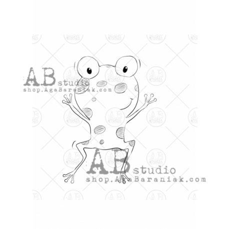 "Sello Caucho AB STUDIO ""frog"""