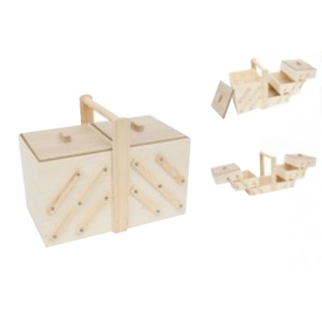 Caja Costurero 35x21.5x27x20cm