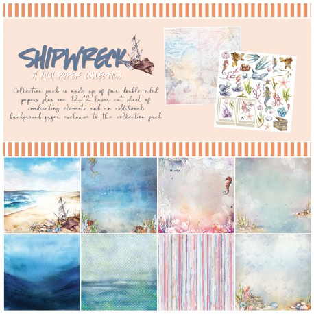 49&Market SHIPWRECK Mini Coleccion 30x30