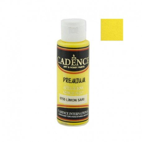 Premium LIMON YELLOW Cadence 70ml