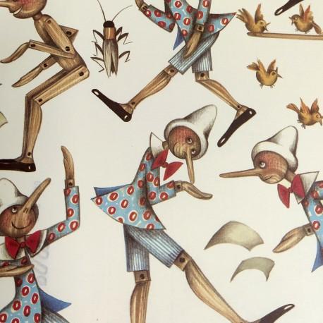 2 Papeles ROSSI Pinocchio 50x70