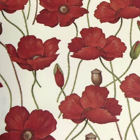 2 Papeles ROSSI Poppies 70x100