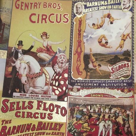 2 Papeles ROSSI Circus 50x70