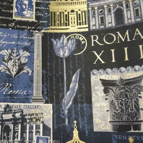 2 Papeles ROSSI Cataloge Rome 50x70