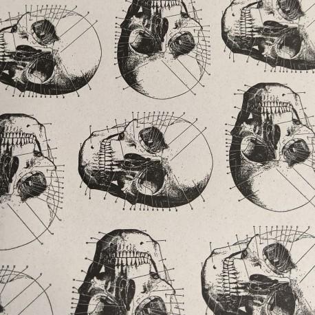 2 Papeles ROSSI Skull 50x70