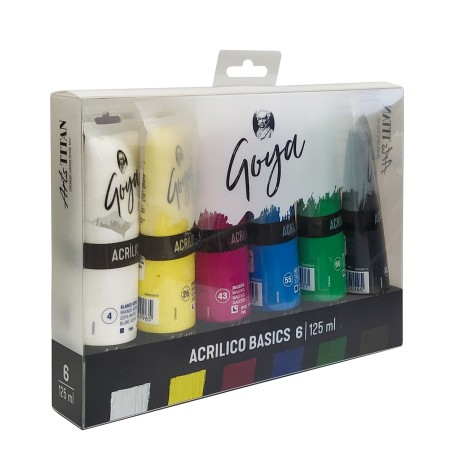 Acrílicos GOYA 6 Colores 125ml