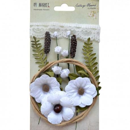 Cottage Blooms Cotton 49&MARKET