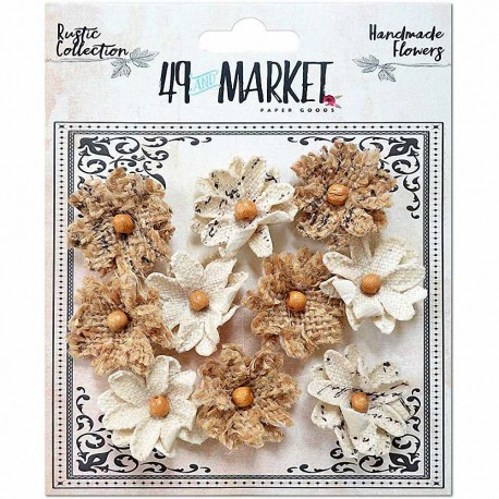 Rustic Canvas-Burlap Small Blooms 49&MARKET