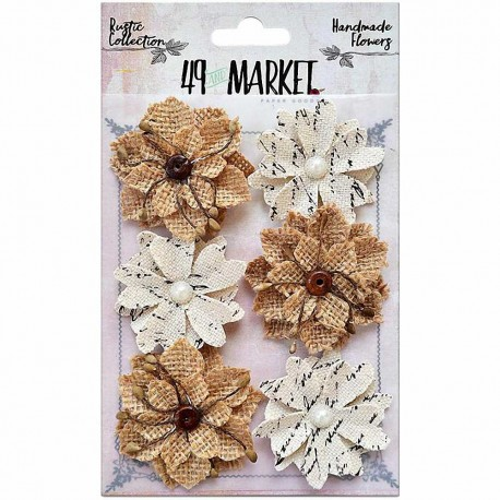 Rustic Canvas-Burlap Medium Blooms 49&MARKET