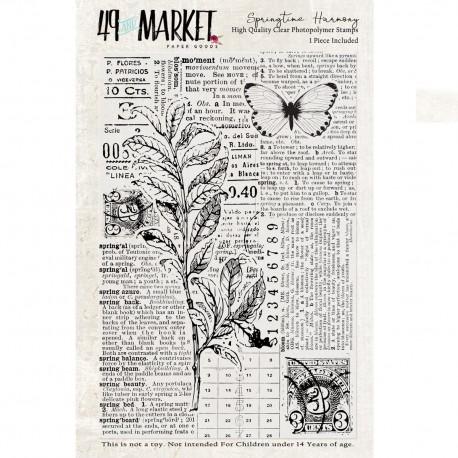 Stamp Springtime Harmony 49&MARKET