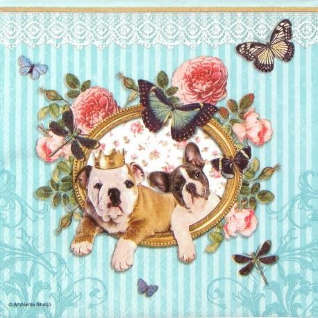 SERVILLETAS- Royal Dogs