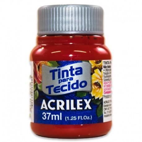 ACRILEX® Pinturas Textil Rojo Profundo