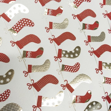 2 Papeles ROSSI Christmas Stockings 50x70