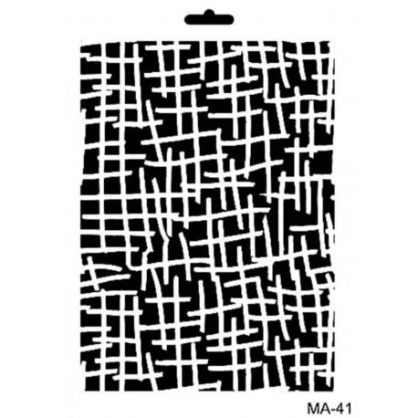 Stencil Mix Media TEXTURA
