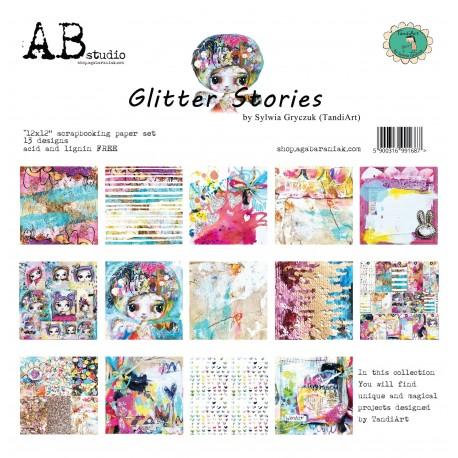 Glitter Stories  AB STUDIO 30x30 8und.