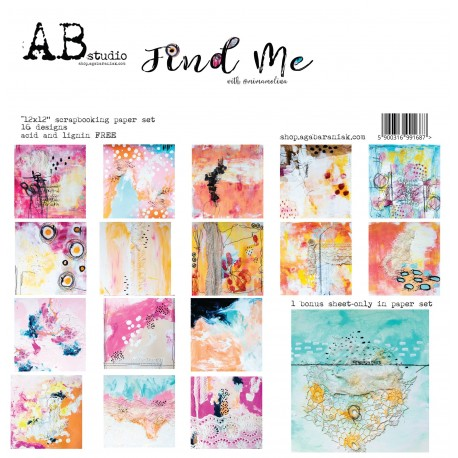 Find Me AB STUDIO 30x30 8und.