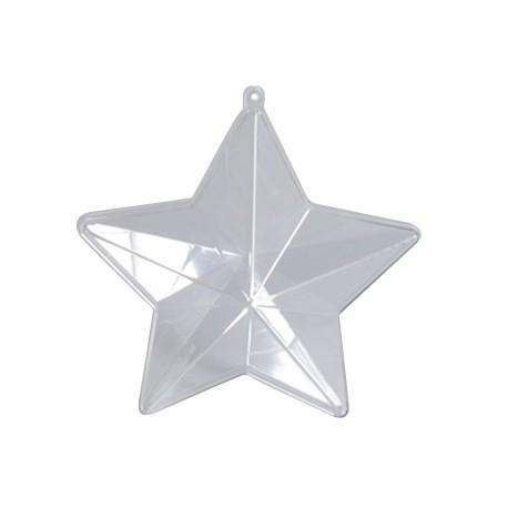 Estrella de Plástico Ø 100 mm