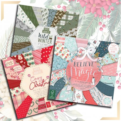Set Navidad PAP061+PAP058+FEP215