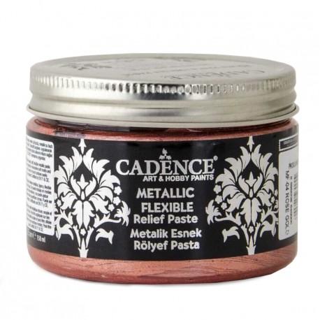 Pasta Flexible Metálica ROSE GOLD 150ml Cadence