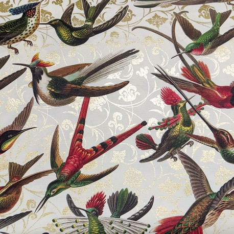 2 Papeles ROSSI Hummingbirds 70x100
