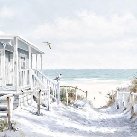 SERVILLETAS- Beach Cabin
