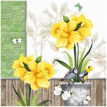 SERVILLETAS- Sunny Spring
